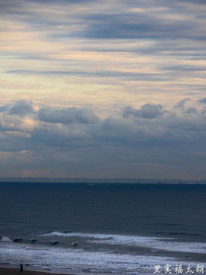 冬の九十九里海岸