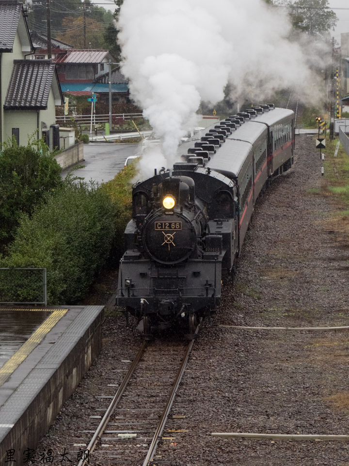 真岡鐵道のSL